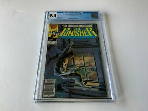 PUNISHER-LIMITED-SERIES-4-CGC-9-4-WHITE-PGS-NEWSSTAND-EDITION-MARVEL-COMICS-1986