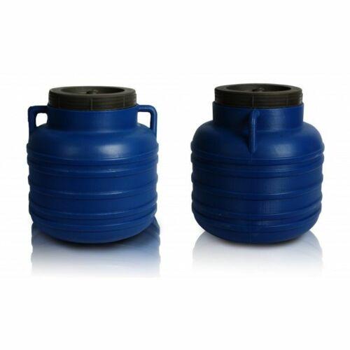 Kunststofffass 80//40//30//10l lebensmittelfass tonne Tonneau d/'eau Baril Blue Bleu
