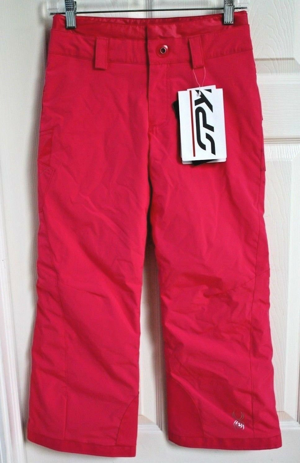 NEW SPYDER GIRL  SKI SNOWBOARD PANTS INSULATED SIZE 10  180  zero profit