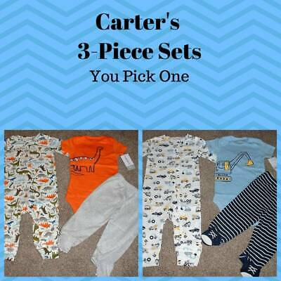 Baby Boy Clothes Carters NB 3 Months Newborn 3M Size Shorts Set Outfit NWT NEW