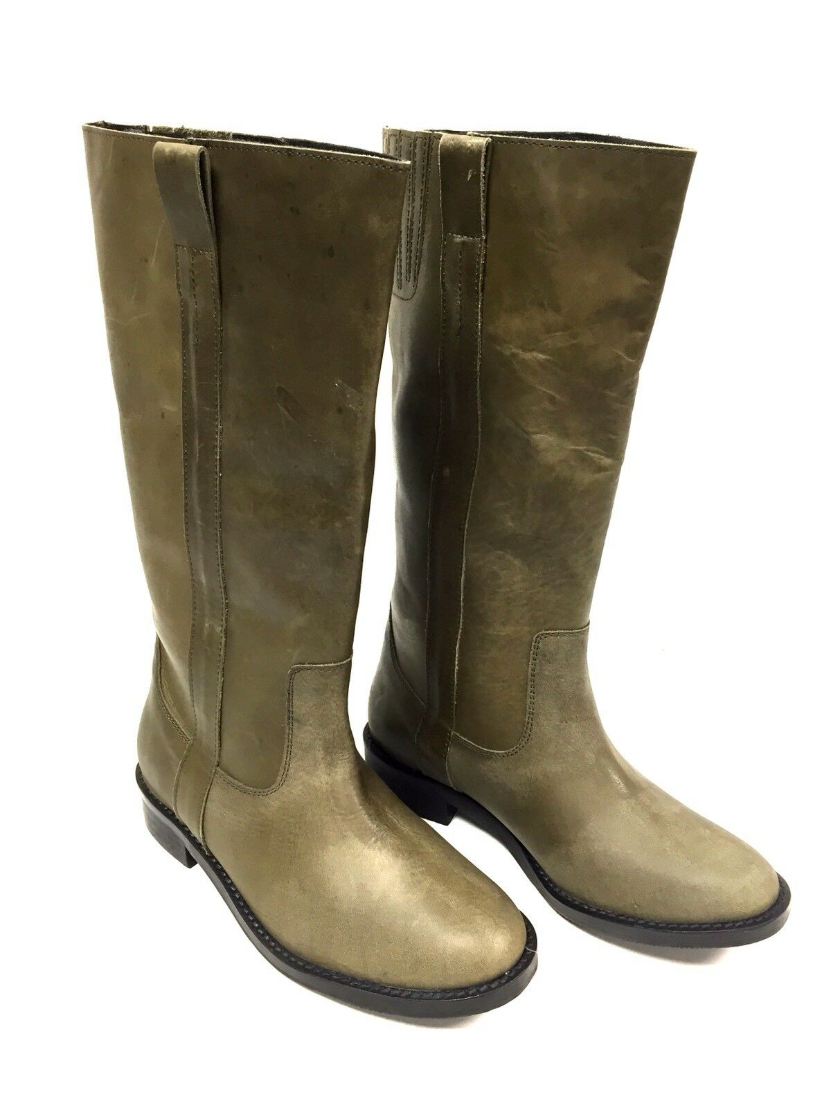 Bottes femme Cuir Kaki Buffalo London Taille Taille Taille 37 FR/ 6 US d1ad6f