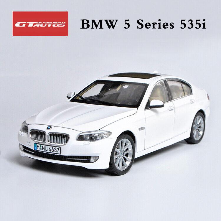 GTA BMW 535i White 1 18 Diecast Car Model Car By GAUTOS New in Box