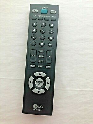 Lg MKJ36998101 Television Remote Control Genuine Original Equipment Manufacturer Part OEM