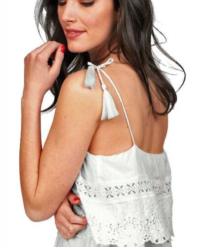 Ethno Ibiza Kleid Maxikleid Gr 44 Spitze Sommerkleid weiß Neu 755305