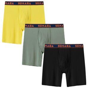 3er-Pack-Herren-Boxershorts-Unterwaesche-Retroshort-Pouch-Hoeschen-Unterhose