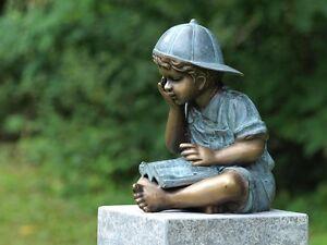 Bronzefigurenstatuengartenfigurdekorskulpturengarten Ebay