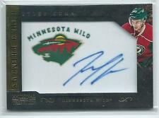 2013-14 National Treasures Tyler Cuma Retro Phenoms Team Logo Patch AUTO WILD