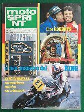 Rivista/Magazine MOTO SPRINT n.35/1980 (ITA) TEST/PROVA MOTO SUZUKI DR 400 S