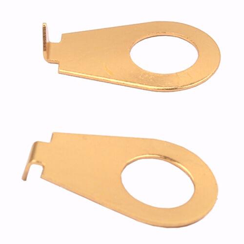 10 X Gitarrenknöpfe Pointer Plate Washer Knob Positionsanzeige Hohe