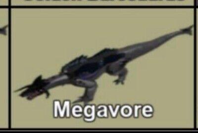 Megavore Skin Digital Item Roblox Dinosaur Simulator Ebay