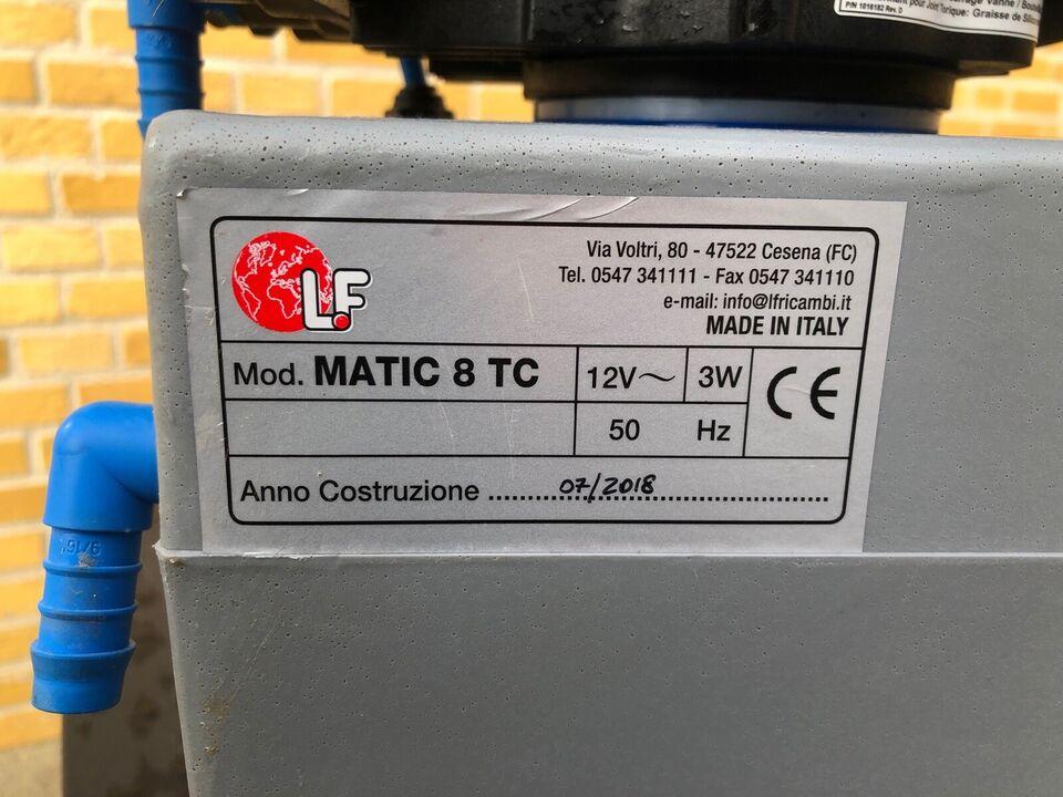 Pentair blødgøringsanlæg, MATIC 8 TC