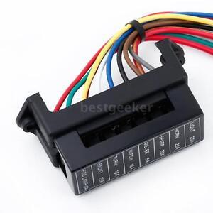 dc32v 8 way circuit car boat automotive atc ato blade fuse box block rh ebay com