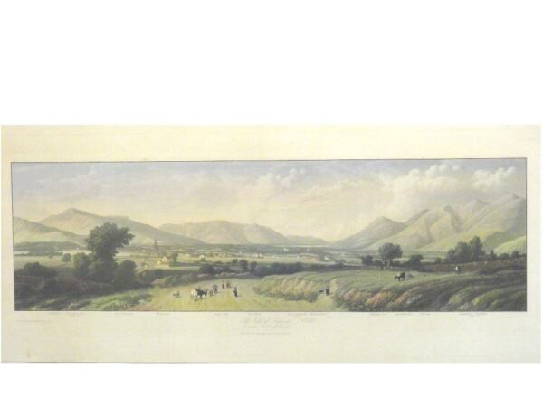 1 Orig.oldcol.steelprint By Westall Keswick The Vale Of ...