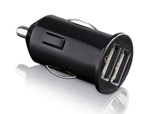 12 V voiture Chargeur USB Connecteur Adaptateur double connecteur double prise voiture 12 V