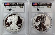 2012 S Silver Eagle San Francisco 75th Anniversary Mint Set PCGS PR70 Mercanti