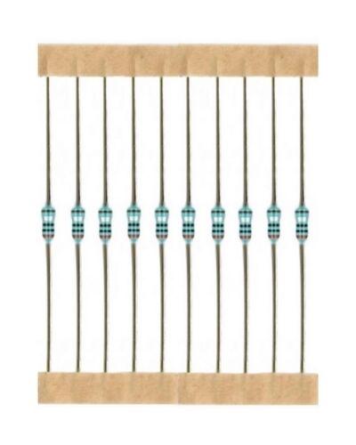 Charbon couche Résistance Resistor 1,1 kohm 0,25 W 5/% 10 Pièce 4001