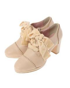 LIZ-LISA-Lace-up-booties-shoes-pink-jfashion-kawaii-japan