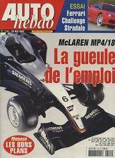AUTO HEBDO n°1394 du 28 Mai 2003 MACLAREN MP4/18 FERRARI CHALLENGE STRADALE E55
