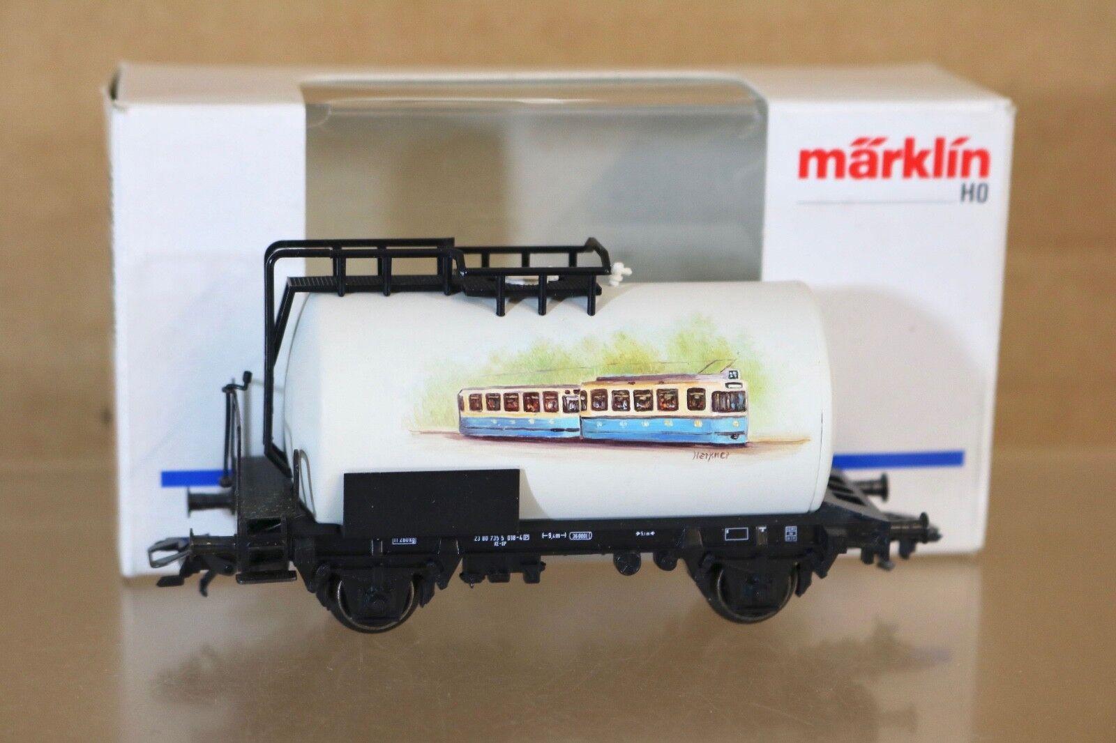 Marklin Märklin 4644 Sondermodell Db Herkner Original Artwork Kesselwagen Np