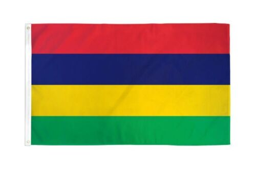 3x5 Mauritius Flag Country Banner New Indoor Outdoor