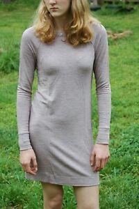 NEW-Lou-amp-Grey-Fall-Ann-Taylor-LOFT-Heathered-Dress-Women-Signature-Soft-XS-M
