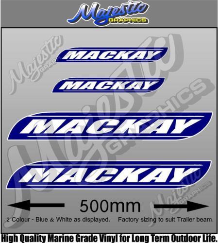 MACKAY TRAILER DECALS SET OF 4 TRAILER DECALS