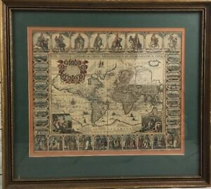 NOVA-TOTIUS-TERRARUM-ORBIS-GEOGRAPHICA-AC-HYDROGRAPHICA-TABULA-framed-art-print