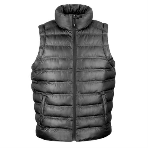 Mens Lightweight Padded BLACK GREY ORANGE or BLUE Gilet Vest Bodywarmer