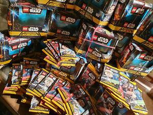 Trading-Card-Game-Lego-Star-Wars-Serie-1-25-Booster-125-Karten-Ovp-Top-Set