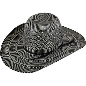 d6e62ad1 UNISEX AMERICAN HAT COMPANY COWBOY HAT FANCY WEAVE & VENT STRAW 6210 ...