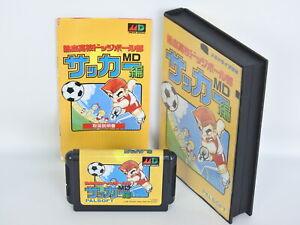 Mega-Drive-Sega-KUNIO-KUN-Nekketsu-Koukou-Dodgeball-Bu-SOCCER-Hen-1217-Japan-md