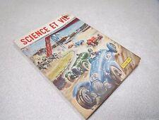 LA SCIENCE ET LA VIE N° 381 juin 1949 couverture voiture ancienne de sport *