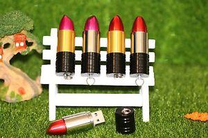 BELLA Novità Lipstick Pen/Flash Drive Memory Stick Regalo di archiviazione USB
