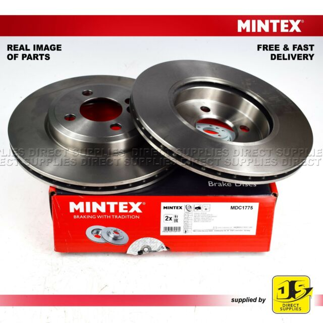 Genuine OE Quality Comline Vented Front Brake Discs /& Pad Set