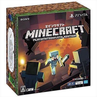 SONY PlayStation Vita Minecraft Special Edition Bundle Console Japan Import  NEW 4948872447560 | eBay