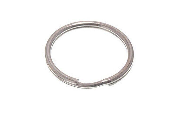Paquete 48X 50mm 5.1cm - Cromado Sprung Acero Llavero Spring