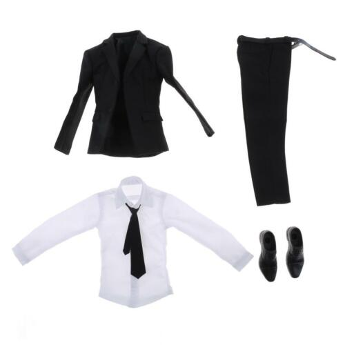1//6 Scale Mens Womens Suit Set Outfit Clothing for 12/'/' Action Figure Accessory