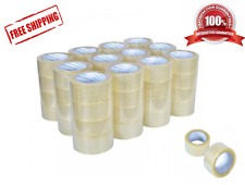 """36 Rolls Packing Tape Lot Carton Box Sealing Package Clear 2""""x110 Yards 330 ft"""