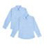 GIRLS SCHOOL SHIRTS 2 PACK LONG SLEEVE BLOUSES EX UK STORE UNIFORM 4-16Y NEW