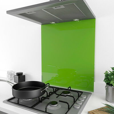 MyAppliances REF1150 60cm x 75cm Iced Lime Zest Coloured Glass Splashback