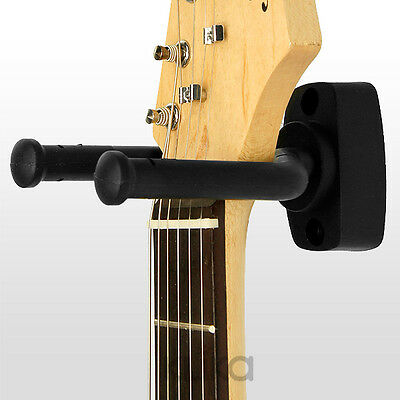 WALL HOOK ELECTRIC ACOUSTIC BASS GUITAR STAND RACK HANGING MOUNT HOLDER m019
