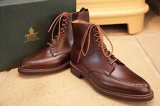 Crockett And Jones Galway 2 país Zapatos Botas de Piel de Becerro Size Uk 8.5