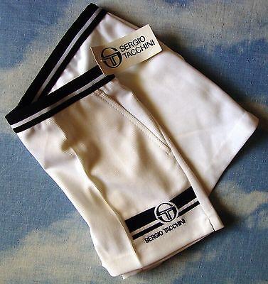 Di Animo Gentile Shorts Tennis Vintage 80's Sergio Tacchini Team Tg.50-l New Made In Italy Rare