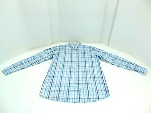 Vineyard-Vines-Men-039-s-Size-XL-Whale-Blue-Plaid-Long-Sleeve-Button-Down-Shirt