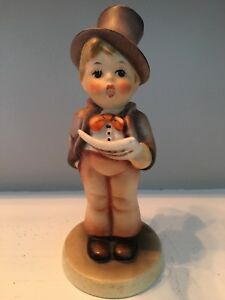 Christmas Carol Singers Figurines.Details About Vintage Hummel Goebel W Germany Christmas Carol Caroler Boy Singing W Music Cute