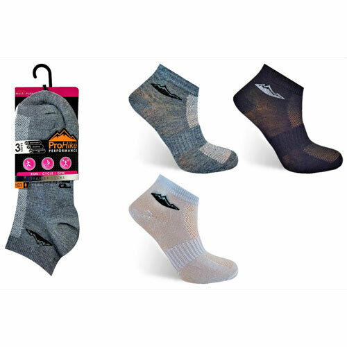 lot LADIES PRO-HIKE TRAINER LINERS FREE UK DELIVERY SOCKS UK SIZE 4-8