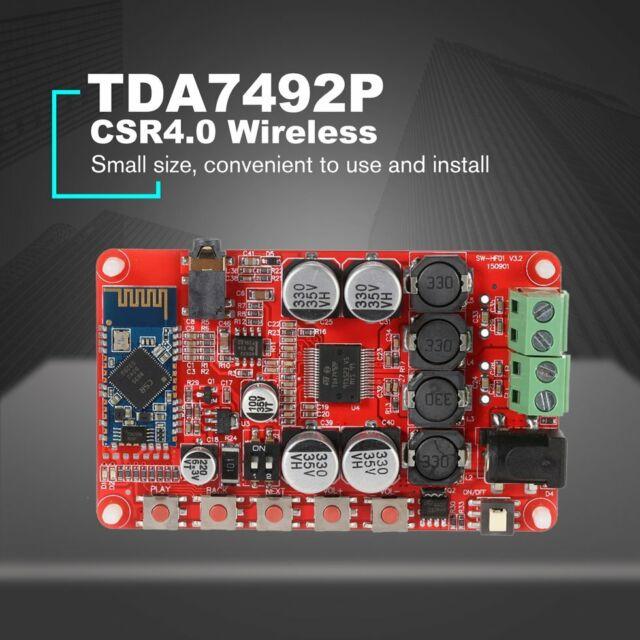 TDA7492P 50W+50W Bluetooth 4.0 Wireless Digital Audio Receiver Amplifier Board Y