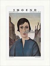 Titelseite der Nummer 30 von 1927 Christian Schad Frau Portrait  Jugend 4557
