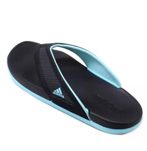 603dadbb3 La foto se está cargando Nuevo-para-mujer-Negro-Aqua-Adidas-Adilette-cf-