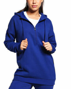adidas-Performance-Womens-Unity-Ink-Half-Zip-HZ-Hoodie-Sweatshirt-S-M-L-BR5289